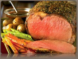 Chanterelle and Tarragon Crusted Beef Tenderloin