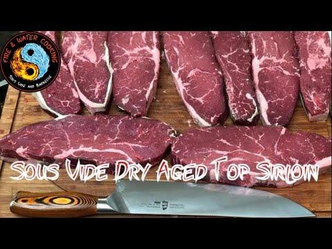 Sous Vide 31 Day Dry Aged Top Sirloin Steak Umai Dry
