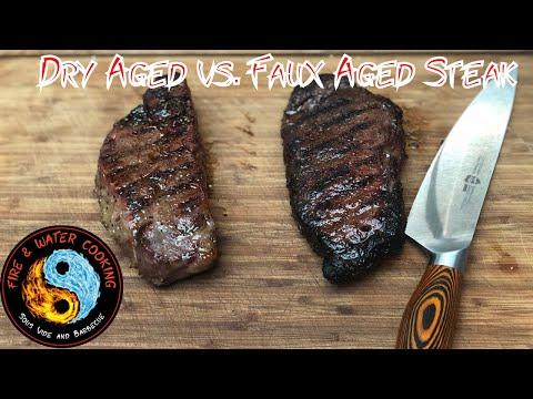 30 Day Dry Aged vs. Faux (Fake) Dry Aged Steak Using Fish Sauce & Koji Rice