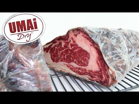 UMAi Dry Steak Aging Timelapse Video
