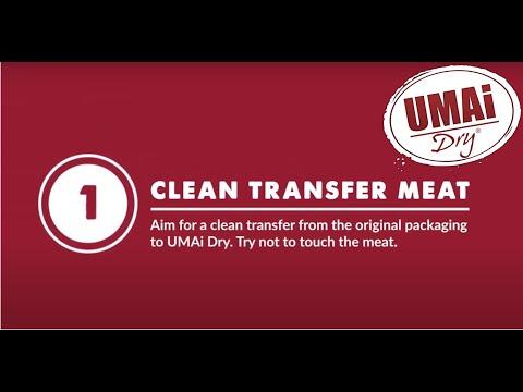 UMAi Dry Basics: #1 Clean Transfer