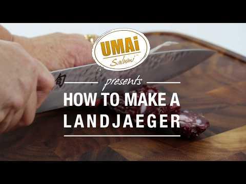 How to make a Landjaeger Sausage